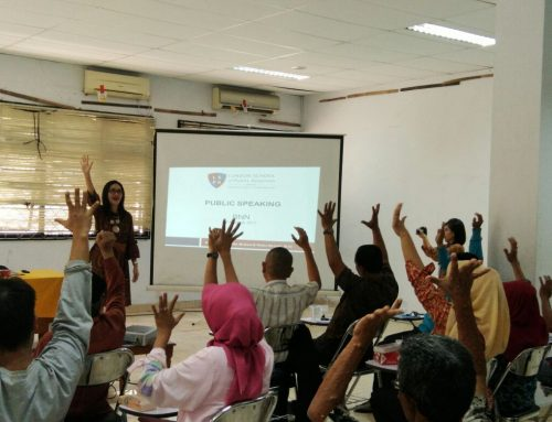 LSPR – Jakarta Lecturers Provide Public Speaking Skills for Anti-Drug Volunteers
