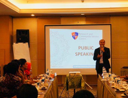 Public Speaking Training for BNN North Jakarta's Anti-Drugs Activists with LPPM LSPR – Jakarta
