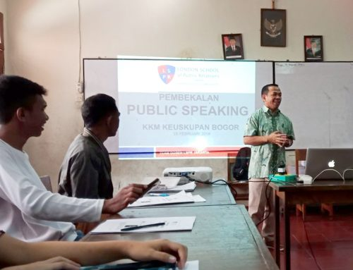 Public Speaking Training for KKM Keuskupan Bogor