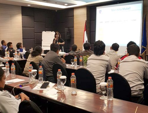 Public Speaking Training for Badan Narkotika Nasional