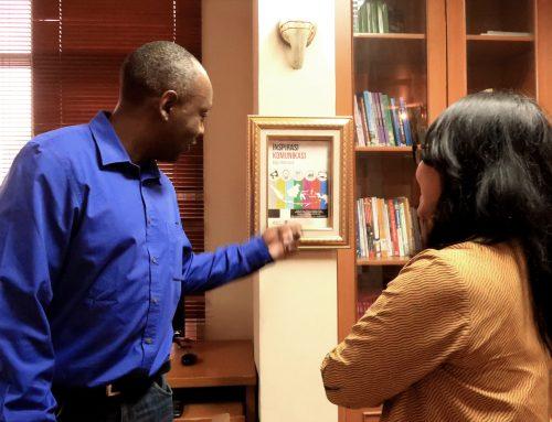 Dr. Olivier Nyirubugara Visit LPPM LSPR – Jakarta