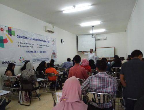 Pelatihan Communication Skill untuk Volunteer Asian Games 2018