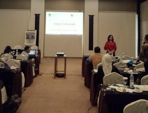 Pelatihan Public Speaking dalam Bimbingan Teknis oleh Badan Narkotika Nasional (BNN) Jakarta Timur