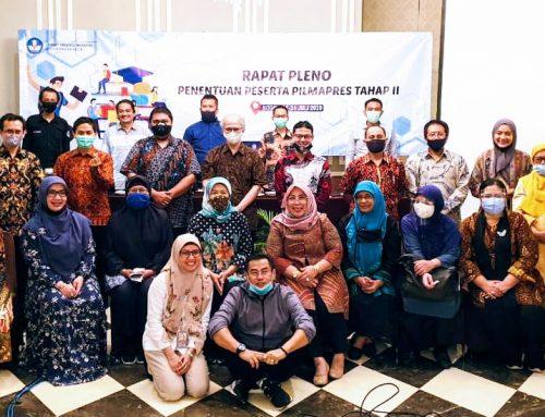 Rapat Pleno penentuan Tahap II Pilmapres 2020