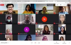 Webinar participants